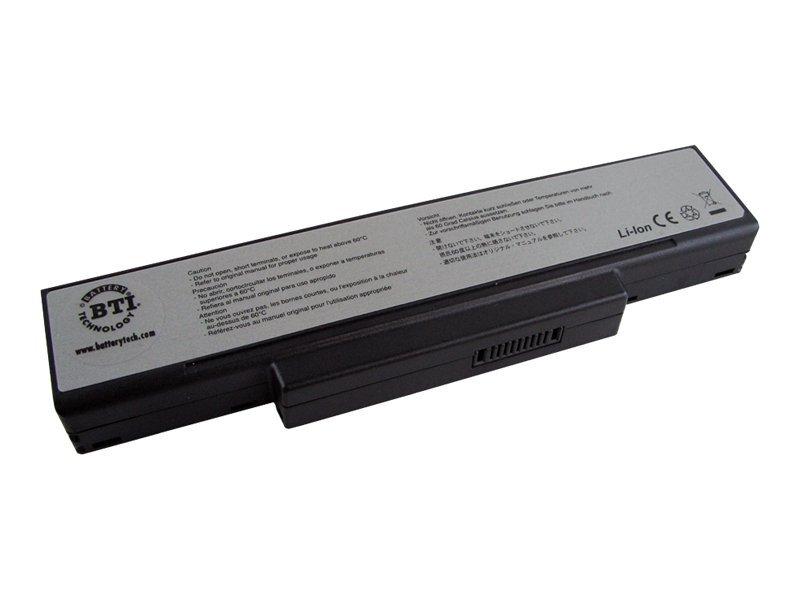 BTI - Laptop-Batterie - 1 x Lithium-Ionen 6 Zellen 4500 mAh - Schwarz - für BenQ Joybook R55.G21, R55.G22, R55.G24, R55.G35, R55