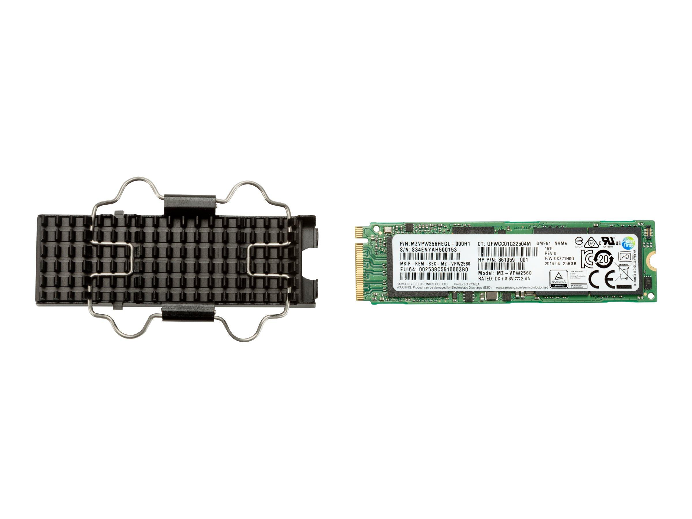 HP Z Turbo Drive - Solid-State-Disk - verschlüsselt - 512 GB - intern - M.2