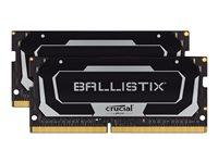 Ballistix - DDR4 - 16 GB: 2 8 GB - SO DIMM 260-PIN - 2666 MHz / PC4-21300 - CL16