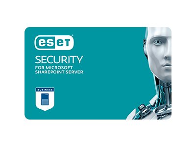 ESET Security for Microsoft SharePoint Server - Erneuerung der Abonnement-Lizenz (3 Jahre) - 1 Benutzer - Volumen - Level B11 (1
