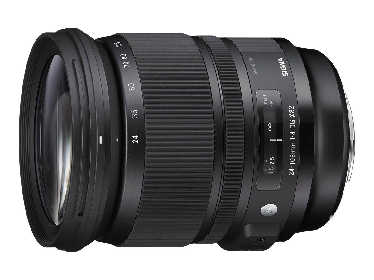Sigma Art - Zoomobjektiv - 24 mm - 105 mm - f/4.0 DG OS HSM - Nikon F