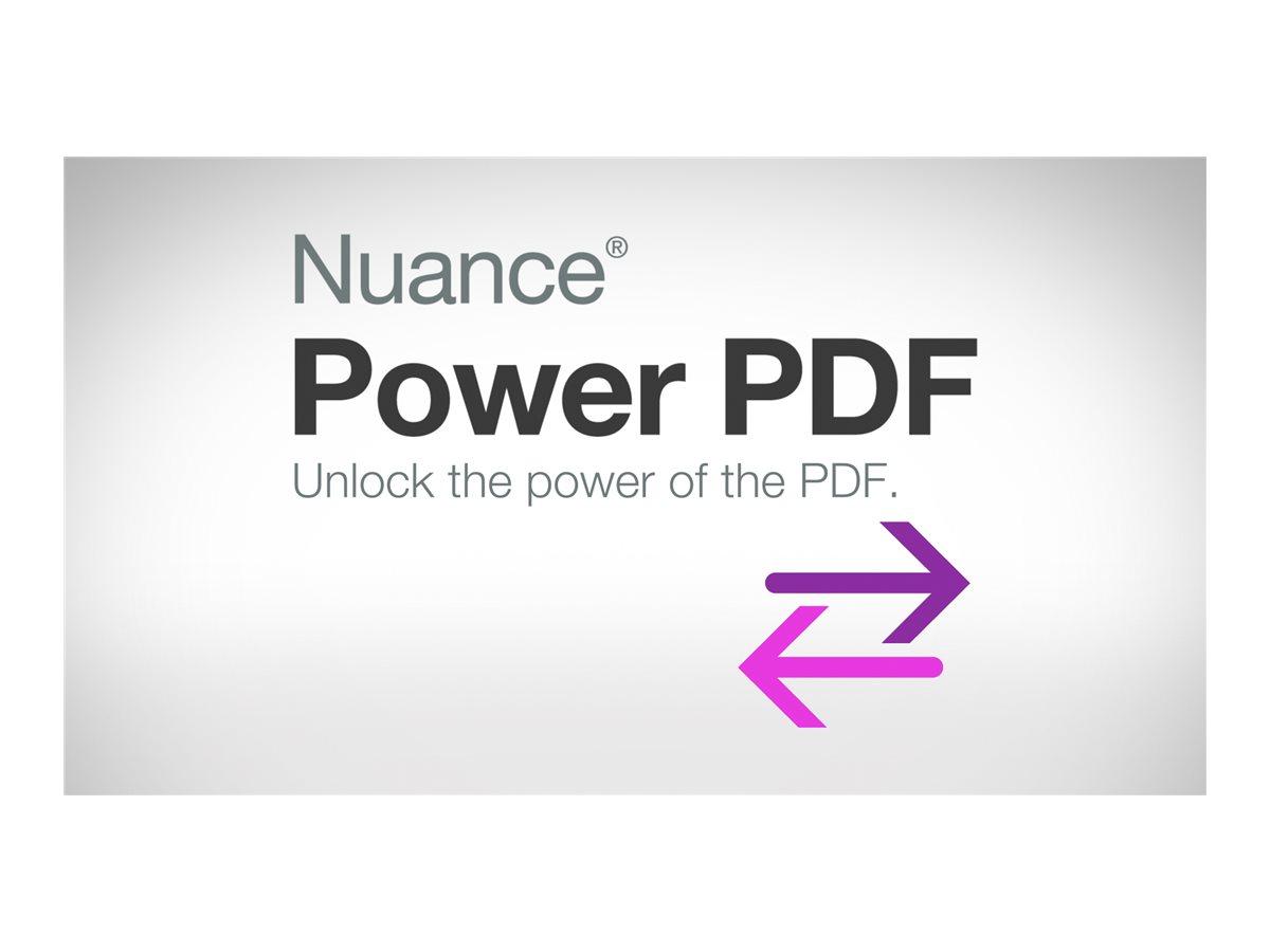 Nuance Power PDF Advanced - (v. 2.0) - Lizenz - 1 Benutzer - Volumen - 10000-14999 Lizenzen