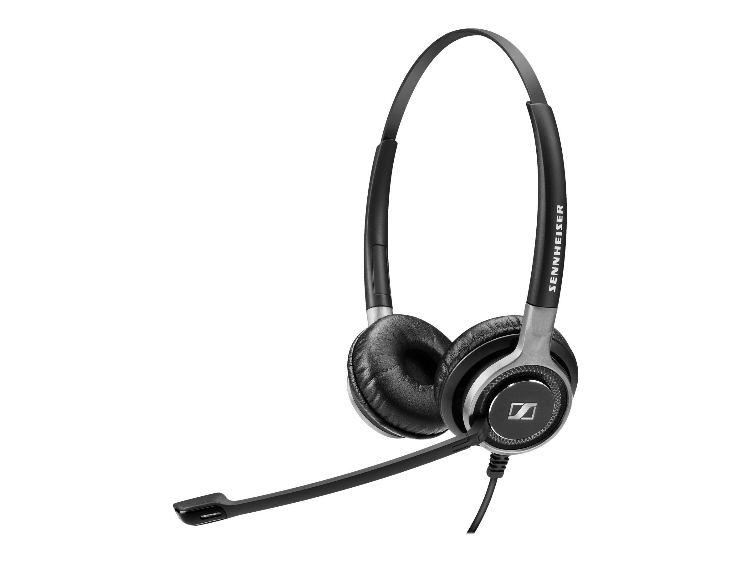 Sennheiser Century SC 660 - Headset - On-Ear - kabelgebunden - Easy Disconnect - Schwarz mit Silber