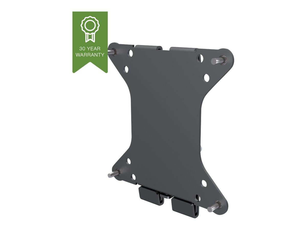 Vision Techmount VFM-W1X1 - Befestigungskit (Wandmontage) für LCD-Display - Stahl - Schwarz - Bildschirmgrösse: 25.4-86.4 cm (10