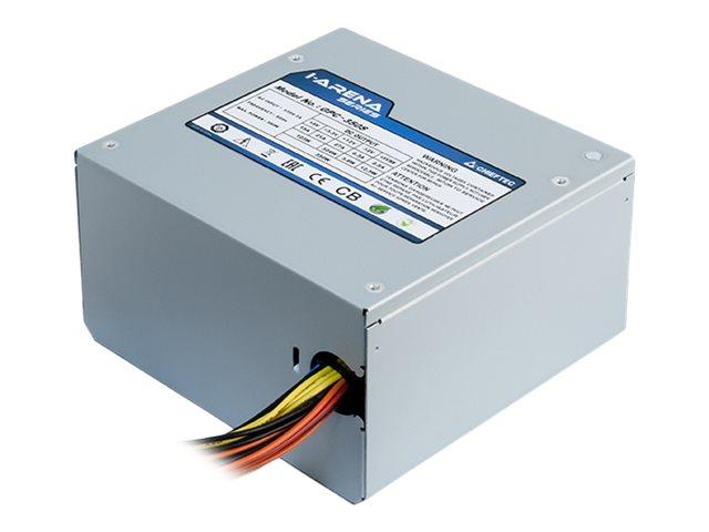 Chieftec iARENA GPC-500S - Stromversorgung (intern) - ATX12V 2.3/ PS/2 - Wechselstrom 230 V - 500 Watt - aktive PFC