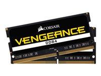 CORSAIR Vengeance - DDR4 - 16 GB: 2 x 8 GB - SO DIMM 260-PIN - 3200 MHz / PC4-25600 - CL22