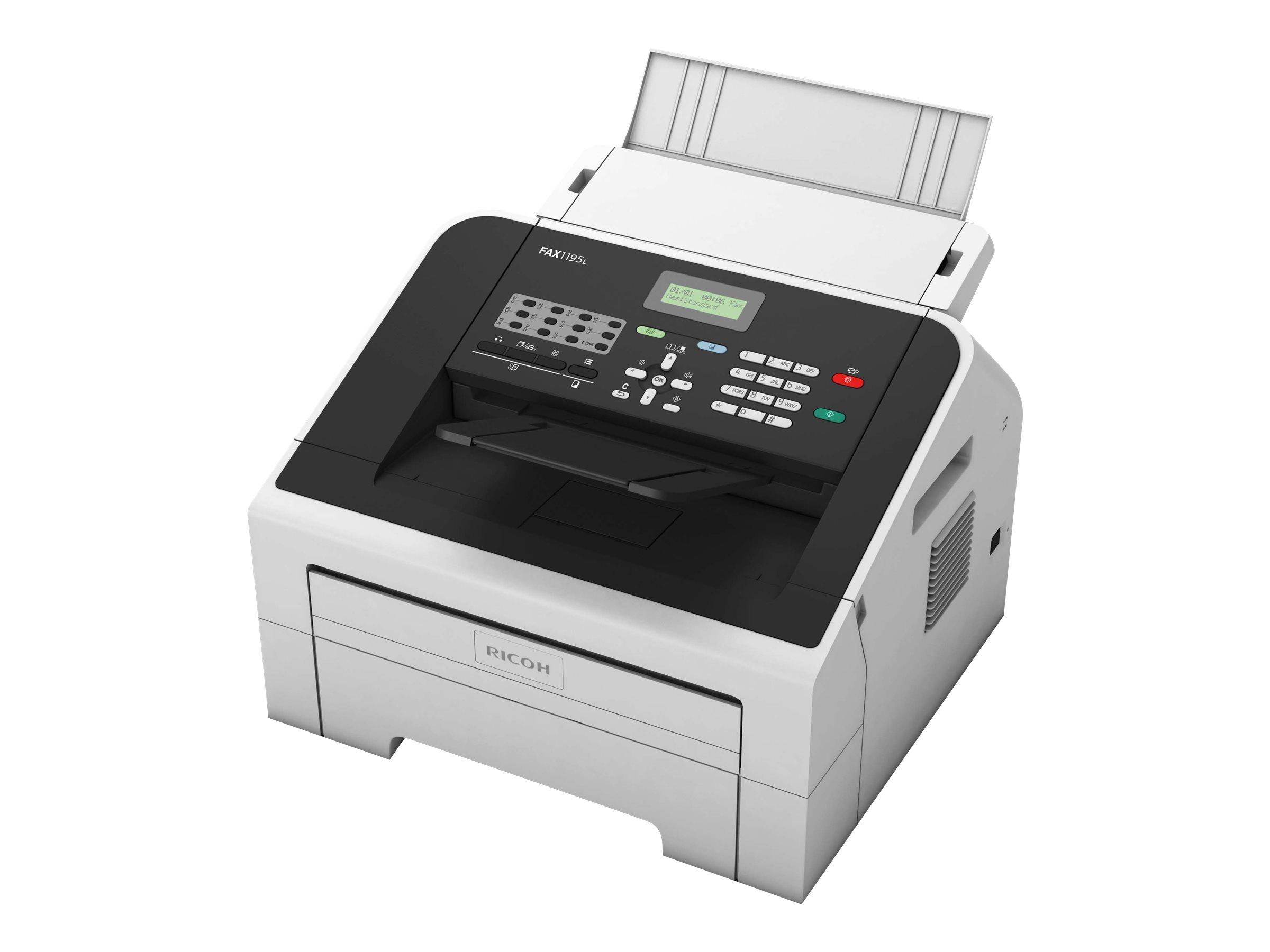 Ricoh FAX 1195L - Multifunktionsdrucker - s/w - Laser - A4 (210 x 297 mm) (Original) - A4/Legal (Medien)