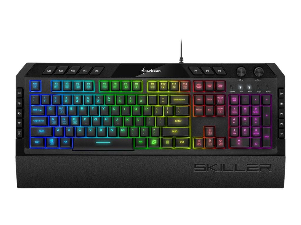 Sharkoon SKILLER SGK5 - Tastatur - hintergrundbeleuchtet - USB - Deutsch