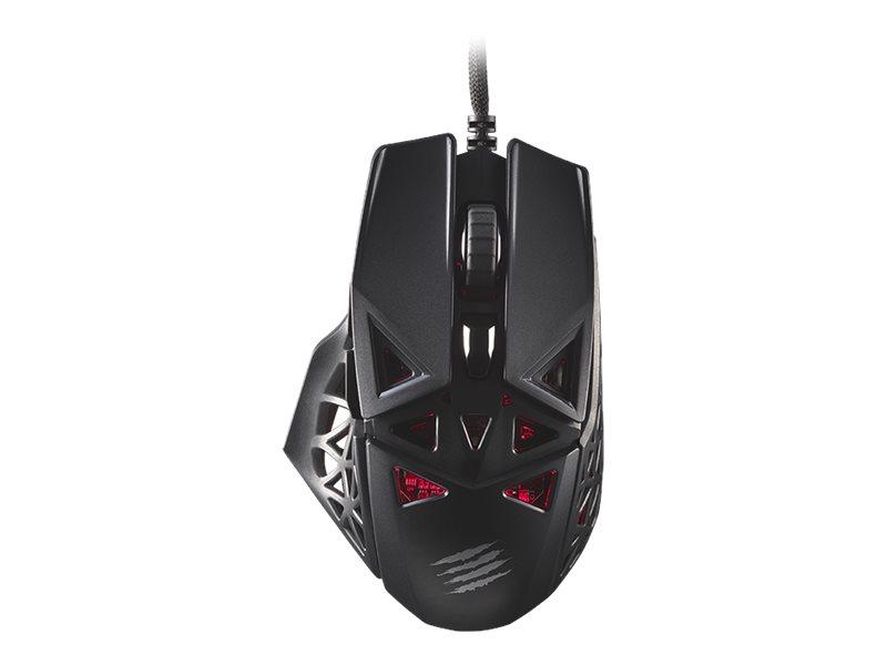 Mad Catz M.O.J.O. M1 - Maus - ergonomisch - Für Rechtshänder - optisch - 6 Tasten