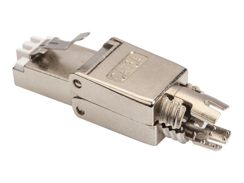 DIGITUS Professional - Netzwerkanschluss - RJ-45 (M) - abgeschirmt - CAT 6a - IEEE 802.3af/IEEE 802.3at/IEEE 802.3bt