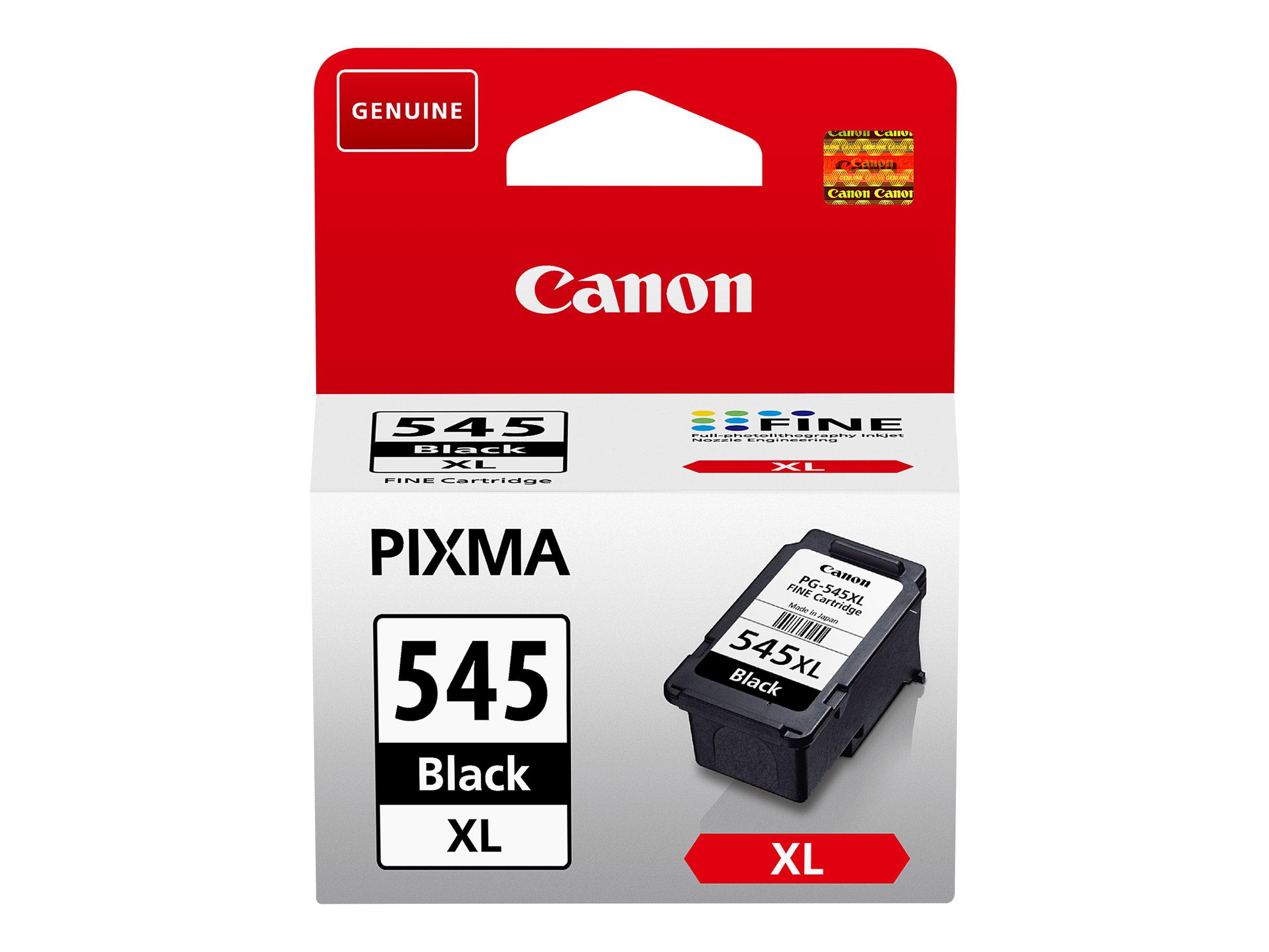 Canon PG-545XL - 15 ml - Hohe Ergiebigkeit - Schwarz - original - Blister mit Diebstahlsicherung