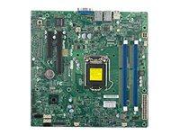 SUPERMICRO X10SLL-SF - Motherboard - micro ATX - LGA1150-Sockel - C222 - 2 x Gigabit LAN