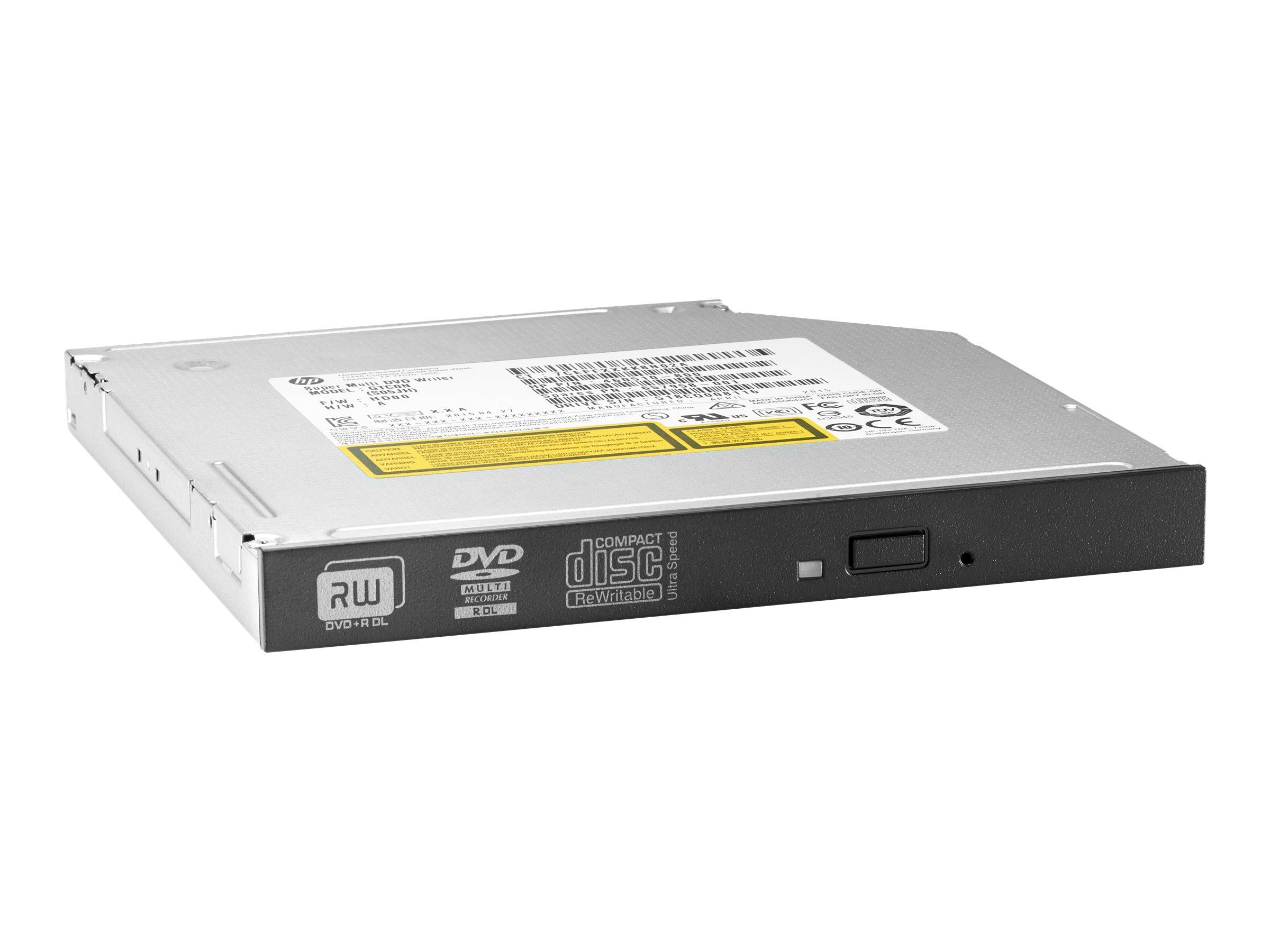HP Slim - Laufwerk - DVD±RW (±R DL) / DVD-RAM - 8x/8x/5x - Serial ATA - intern