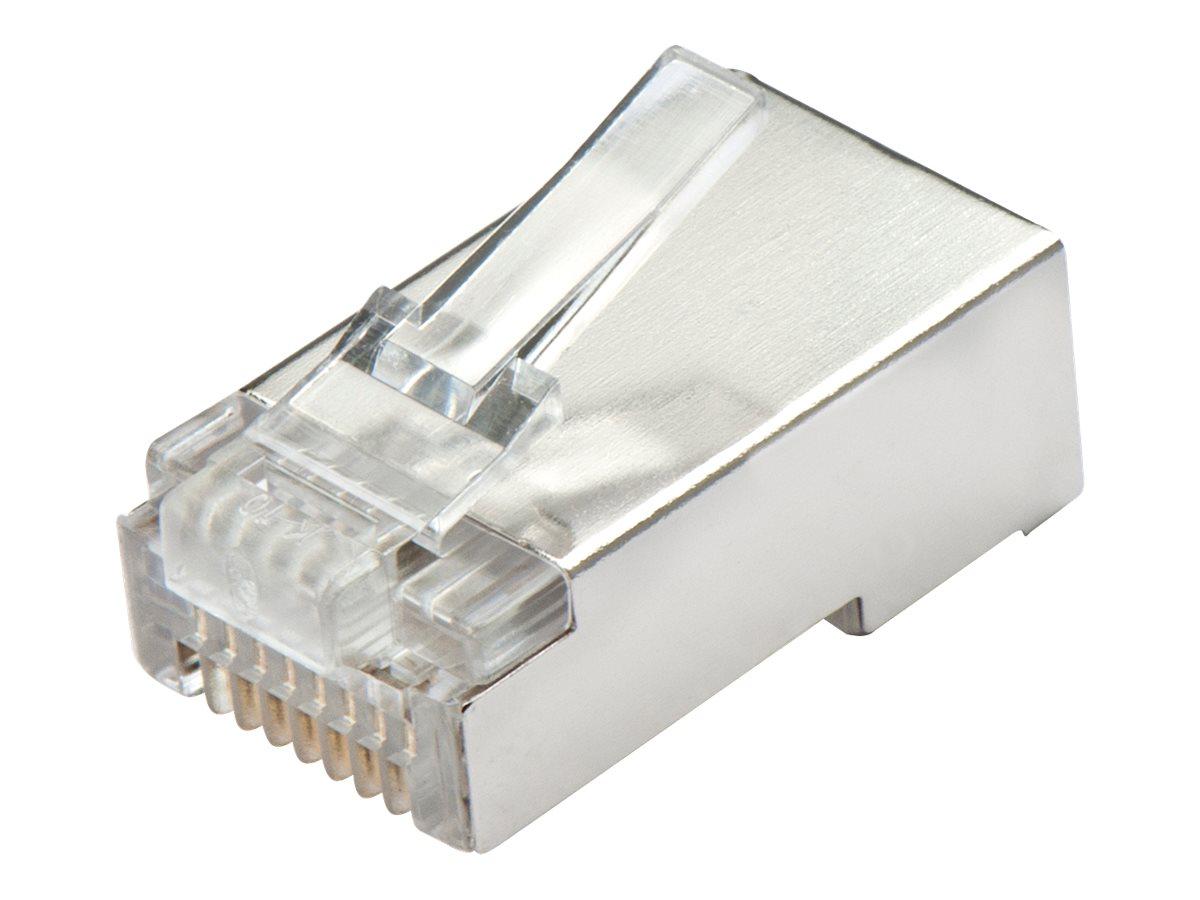 Lindy - Netzwerkanschluss - RJ-45 (M) - STP - CAT 5e - durchsichtig