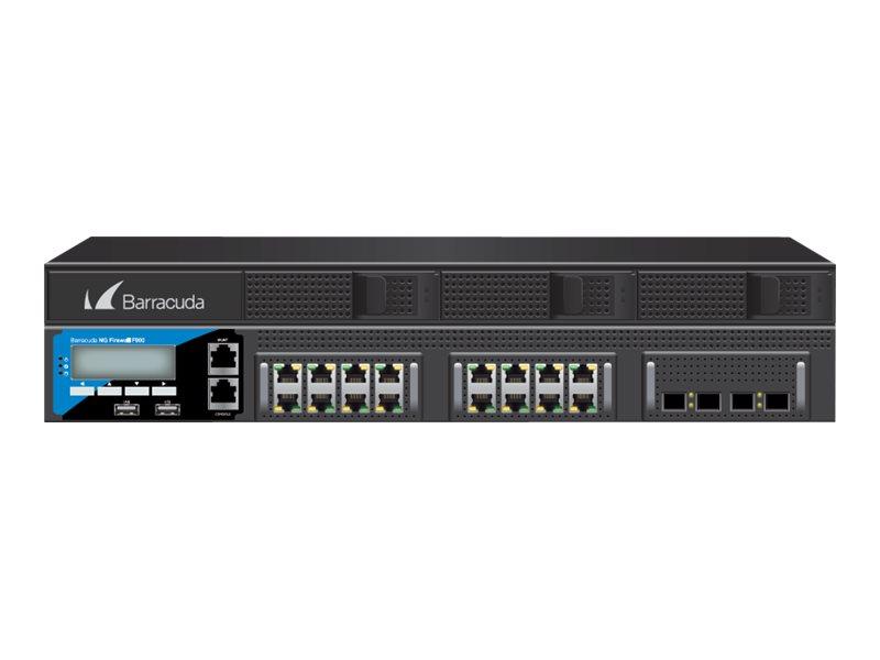 Barracuda CloudGen Firewall F-Series F900 model CCE - Firewall - GigE - 2U - Rack-montierbar