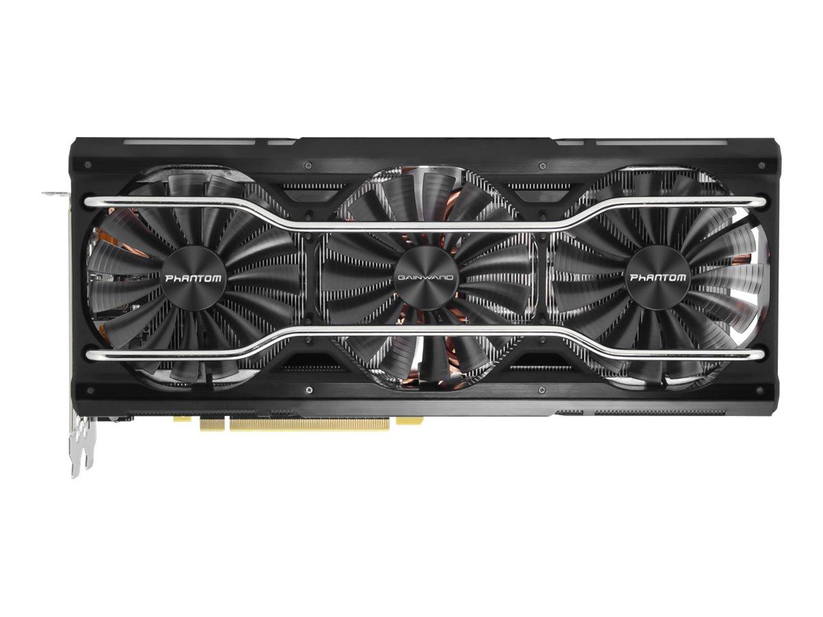Gainward GeForce RTX 2080 SUPER Phantom - Grafikkarten - GF RTX 2080 Super - 8 GB GDDR6 - PCIe 3.0 x16 - HDMI, 3 x DisplayPort,