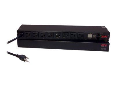 APC Switched Rack PDU AP7900B - Stromverteilungseinheit (Rack - einbaufähig) - Wechselstrom 100-120 V - Eingabe, Eingang NEMA 5-