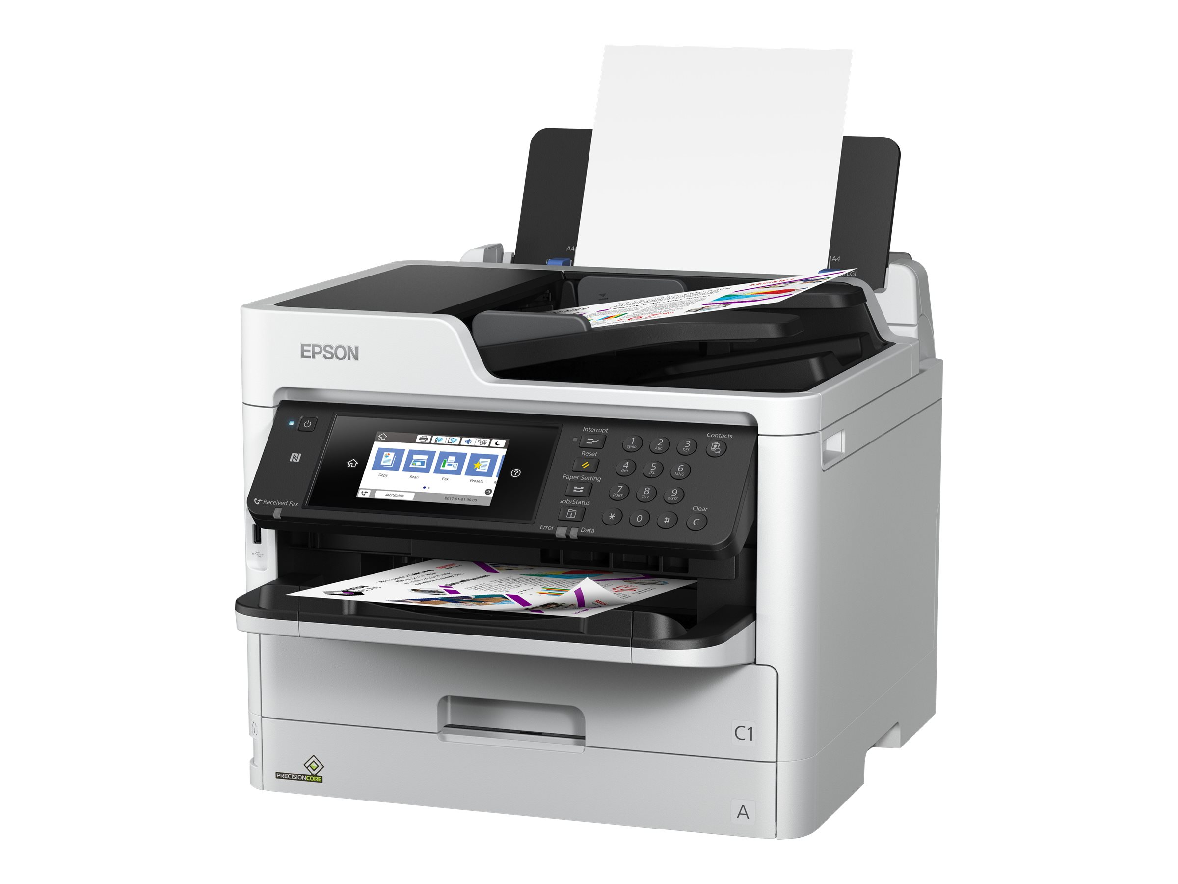 Epson WorkForce Pro WF-C5790DWF - Multifunktionsdrucker - Farbe - Tintenstrahl - Legal (216 x 356 mm) (Original) - A4/Legal (Med