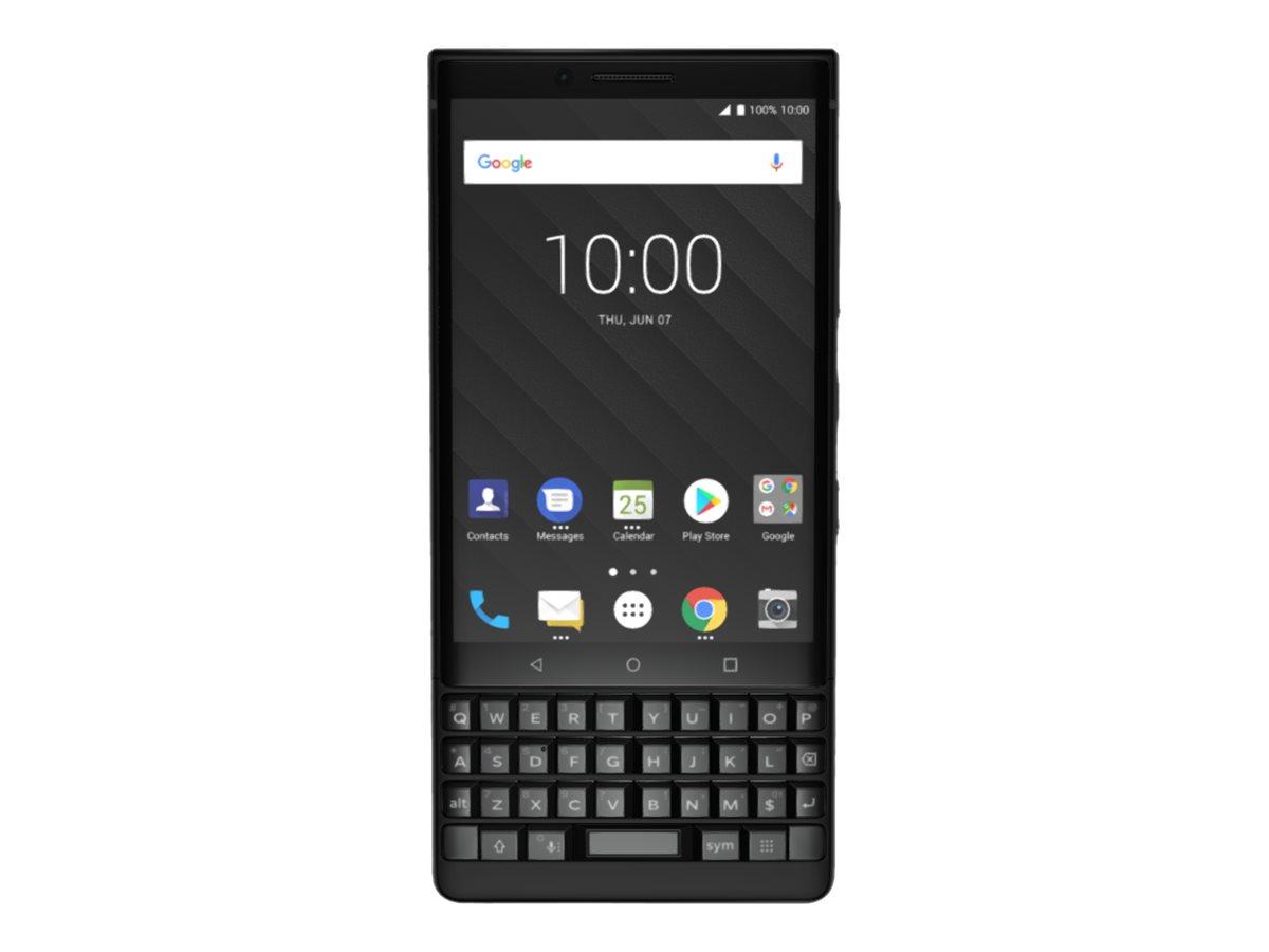 BlackBerry Key2 - Black Edition - Smartphone - Dual-SIM - 4G LTE - 128 GB