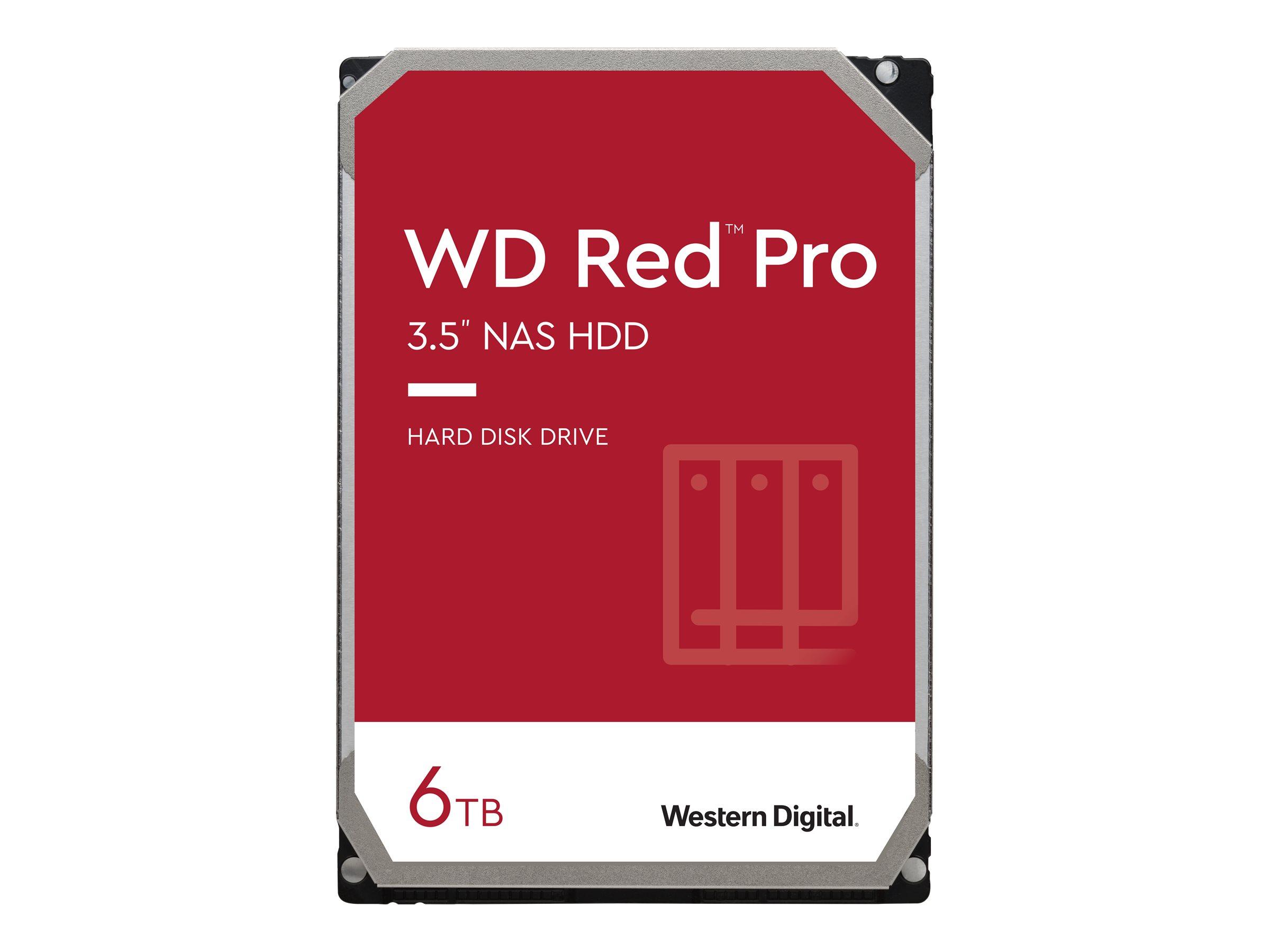 WD Red Pro NAS Hard Drive WD6003FFBX - Festplatte - 6 TB - intern - 3.5