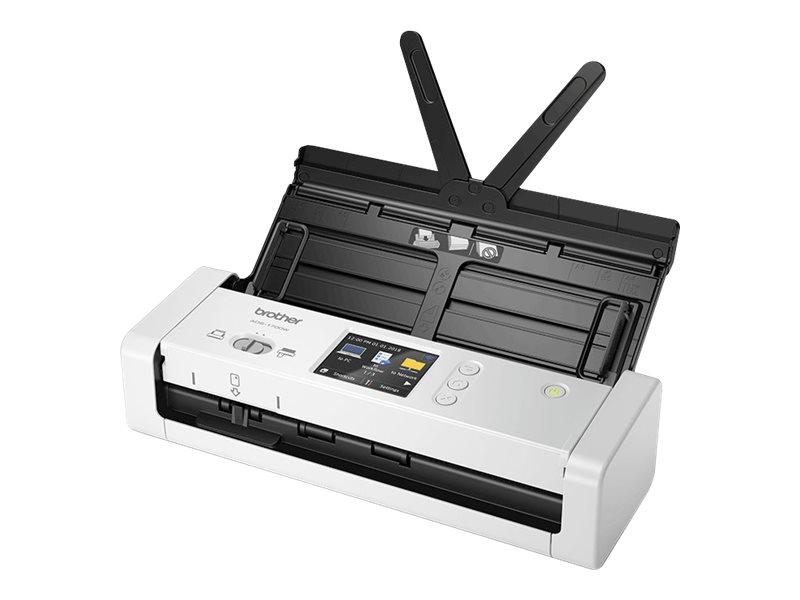 Brother ADS-1700W - Dokumentenscanner - Duplex - A4 - 600 dpi x 600 dpi - bis zu 25 Seiten/Min. (einfarbig) / bis zu 25 Seiten/M