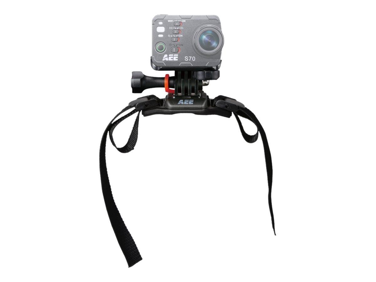 AEE B20A - Stützsystem - Gurtmontage - Helm - für AEE Magicam S70 Pro; MagiCam S50, S50 PRO