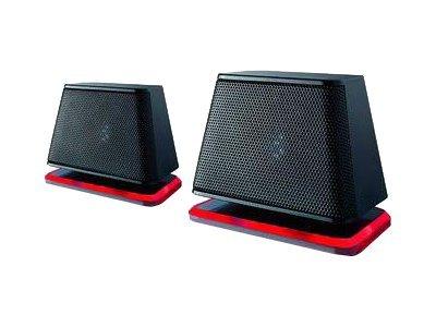Fujitsu Soundsystem DS E2000 Air - Lautsprecher - für PC - 2.4 Watt (Gesamt) - Schwarz, Crimson Red - für Celsius J550; ESPRIMO