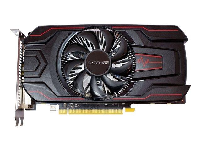 Sapphire Pulse Radeon RX 560 - Grafikkarten - Radeon RX 560 - 2 GB GDDR5 - PCIe 3.0 x16 - DVI, HDMI, DisplayPort