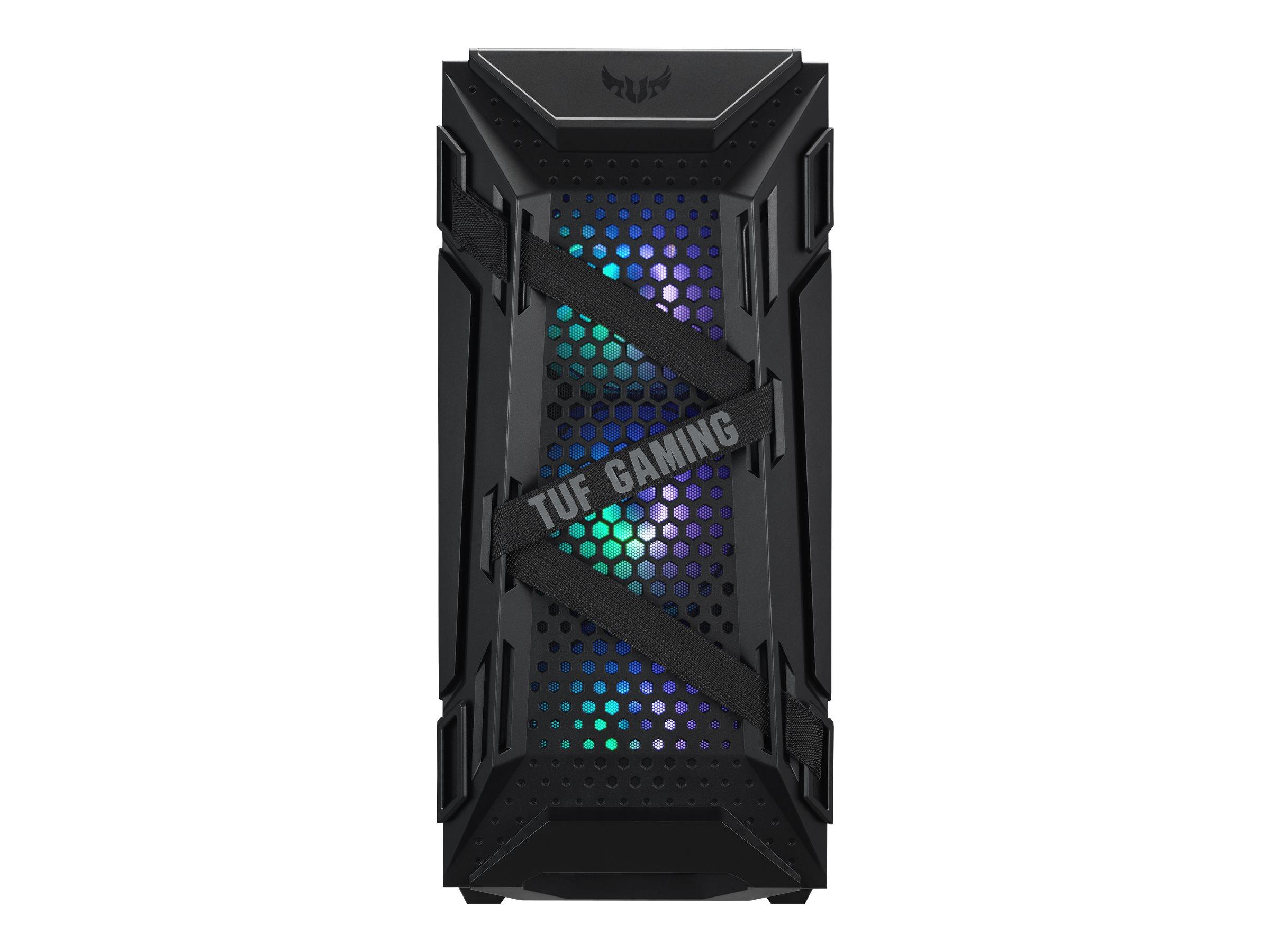 ASUS TUF Gaming GT301 - Tower - ATX - Schwarz - USB/Audio