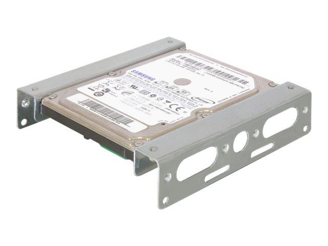Delock Delock Installation kit 2.5 > 3.5 - Laufwerkeinbau-Kit - Kapazität: 1 Festplatte (2,5