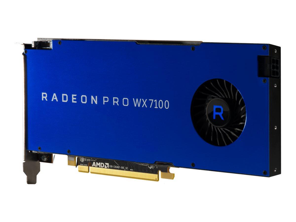 Radeon Pro WX7100 - Grafikkarten - Radeon Pro WX 7100 - 8 GB GDDR5 - PCIe 3.0 x16 - 4 x DisplayPort