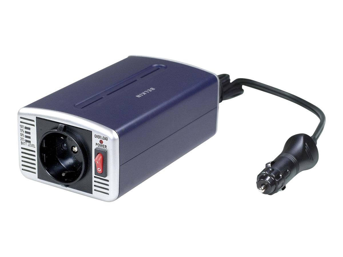 Belkin AC Anywhere - Wechselrichter Gleichstrom in Wechselstrom - 12 V - 300 Watt - Ausgangsanschlüsse: 1