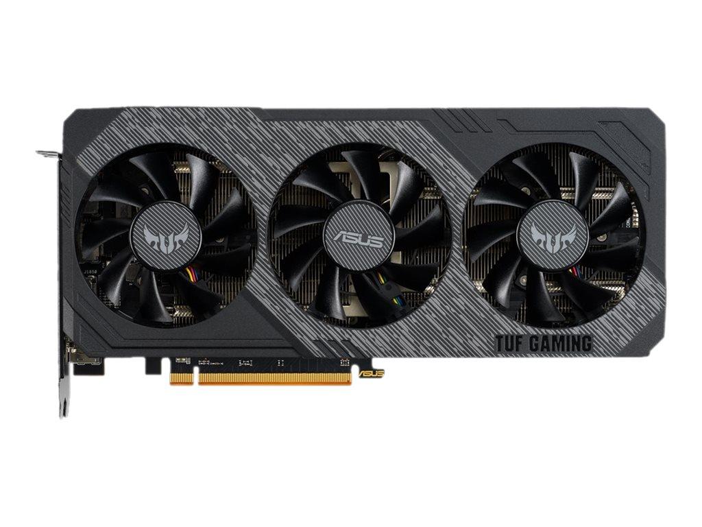 ASUS TUF 3-RX5700XT-O8G-GAMING - OC Edition - Grafikkarten - Radeon RX 5700 XT - 8 GB GDDR6 - PCIe 4.0 x16
