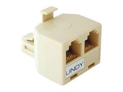 Lindy - Netzwerk-Splitter - RJ-11 (M) bis RJ-11 (W)