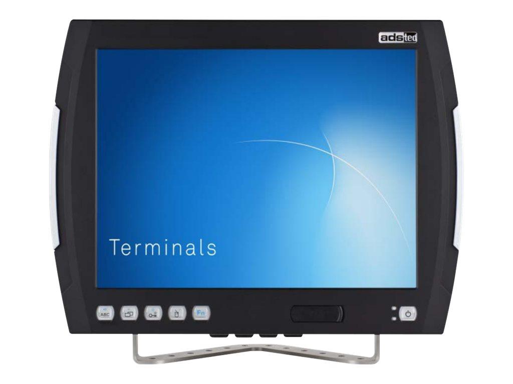 ads-tec VMT7000 series VMT7010 - Computer für den Einbau in Fahrzeuge - keine Tastatur - Atom E3827 / 1.75 GHz - Win 7 Pro 64-bi
