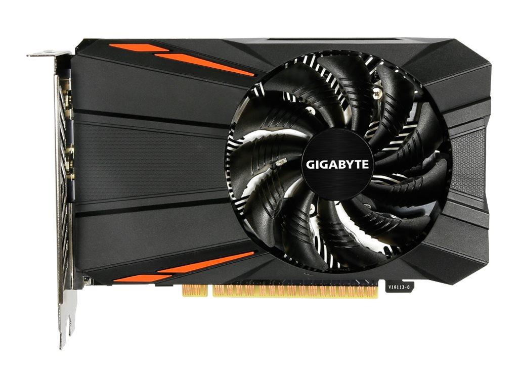 Gigabyte GeForce GTX 1050 D5 2G - Grafikkarten - NVIDIA GeForce GTX 1050 - 2 GB GDDR5 - PCIe 3.0 x16 - DVI, HDMI, DisplayPort