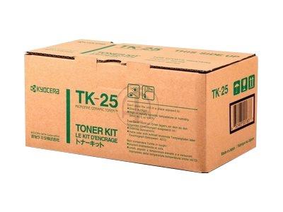 Kyocera TK 25 - Schwarz - Tonersatz - für FS-1200