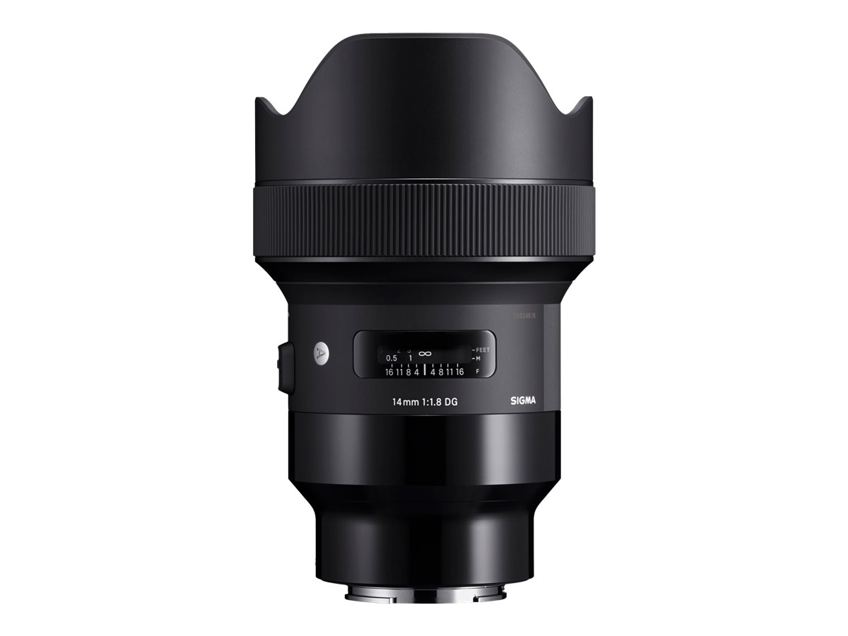 Sigma Art - Weitwinkelobjektiv 14 mm - f/1.8 DG HSM - Sony E-mount