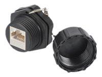 DIGITUS Professional - Netzwerkanschluss - RJ-45 (W) Schutzkappe bis 110 - STP - CAT 6