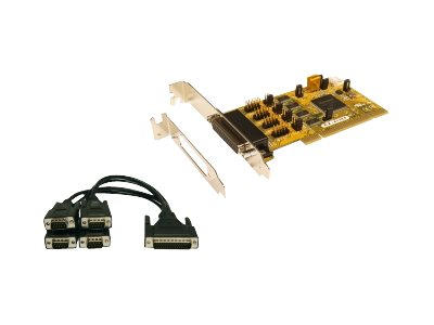 Exsys EX-41384 - Serieller Adapter - PCI-X Low-Profile - RS-232 x 3