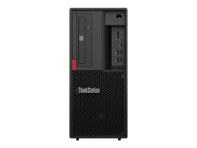 Lenovo ThinkStation P330 30C5 - Tower - 1 x Core i7 8700K / 3.7 GHz - RAM 16 GB - SSD 256 GB - TCG Opal Encryption