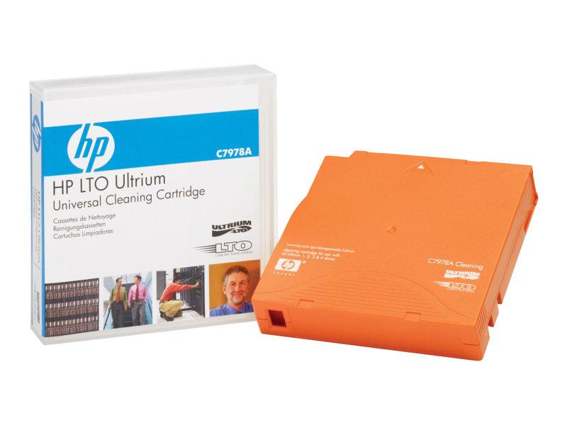 HPE Ultrium Universal Cleaning Cartridge - LTO Ultrium - orange - Reinigungskassette - für HPE T950, T950 3, T950 6; StoreEver M