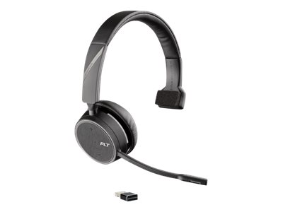 Poly - Plantronics Voyager 4210 USB-A - UC Series - Headset - On-Ear - Bluetooth