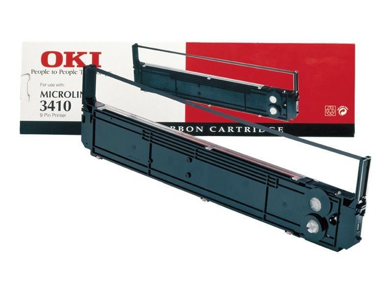 OKI - 1 - Schwarz - Farbband - für Microline 3410