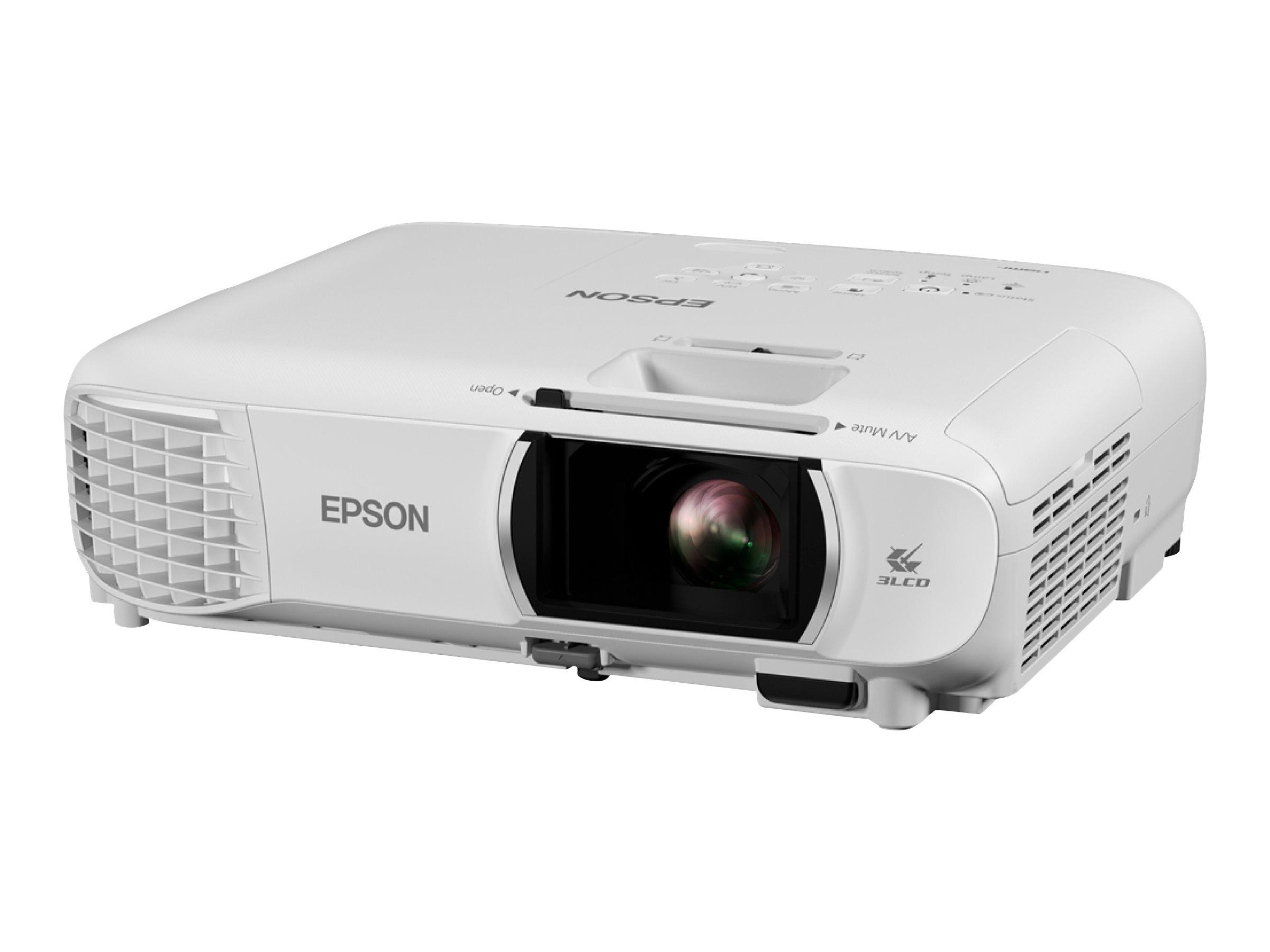 Epson EH-TW750 - 3-LCD-Projektor - tragbar - 3400 lm (weiss) - 3400 lm (Farbe) - Full HD (1920 x 1080)