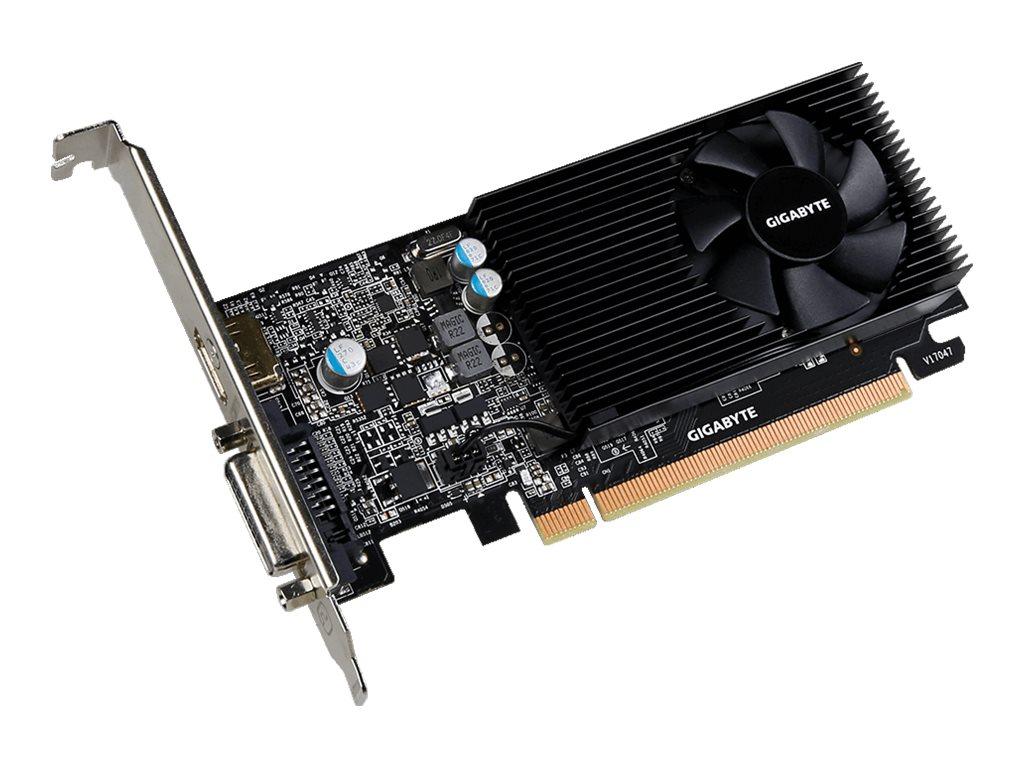 Gigabyte GV-N1030D5-2GL - Grafikkarten - GF GT 1030 - 2 GB GDDR5 - PCIe 3.0 Low-Profile - DVI, HDMI