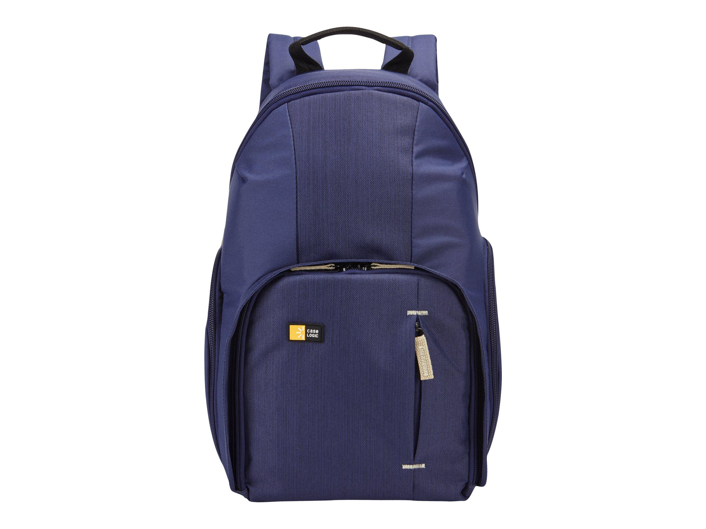 Case Logic DSLR Compact - Schultertasche für Kamera mit Objekiven und Tablet - Dobby-Nylon - Blau, Indigo