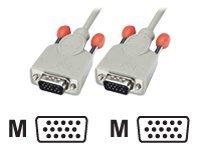 Lindy - VGA-Kabel - HD-15 (VGA) (M) bis HD-15 (VGA) (M) - 5 m - Grau