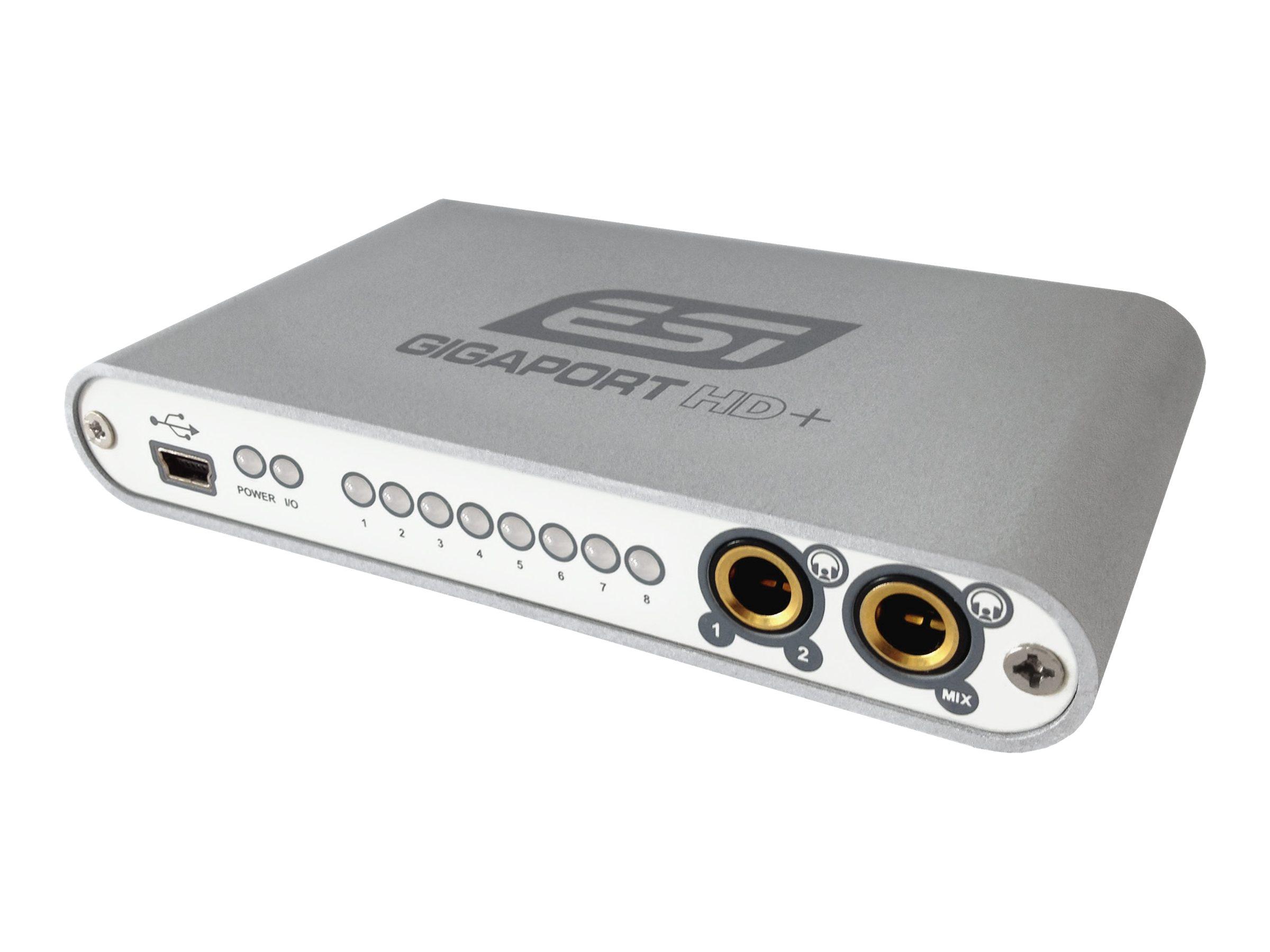 ESI GIGAPort HD - Audio-Schnittstelle - 24-Bit - 96 kHz - 110 dB S/N - 7.1