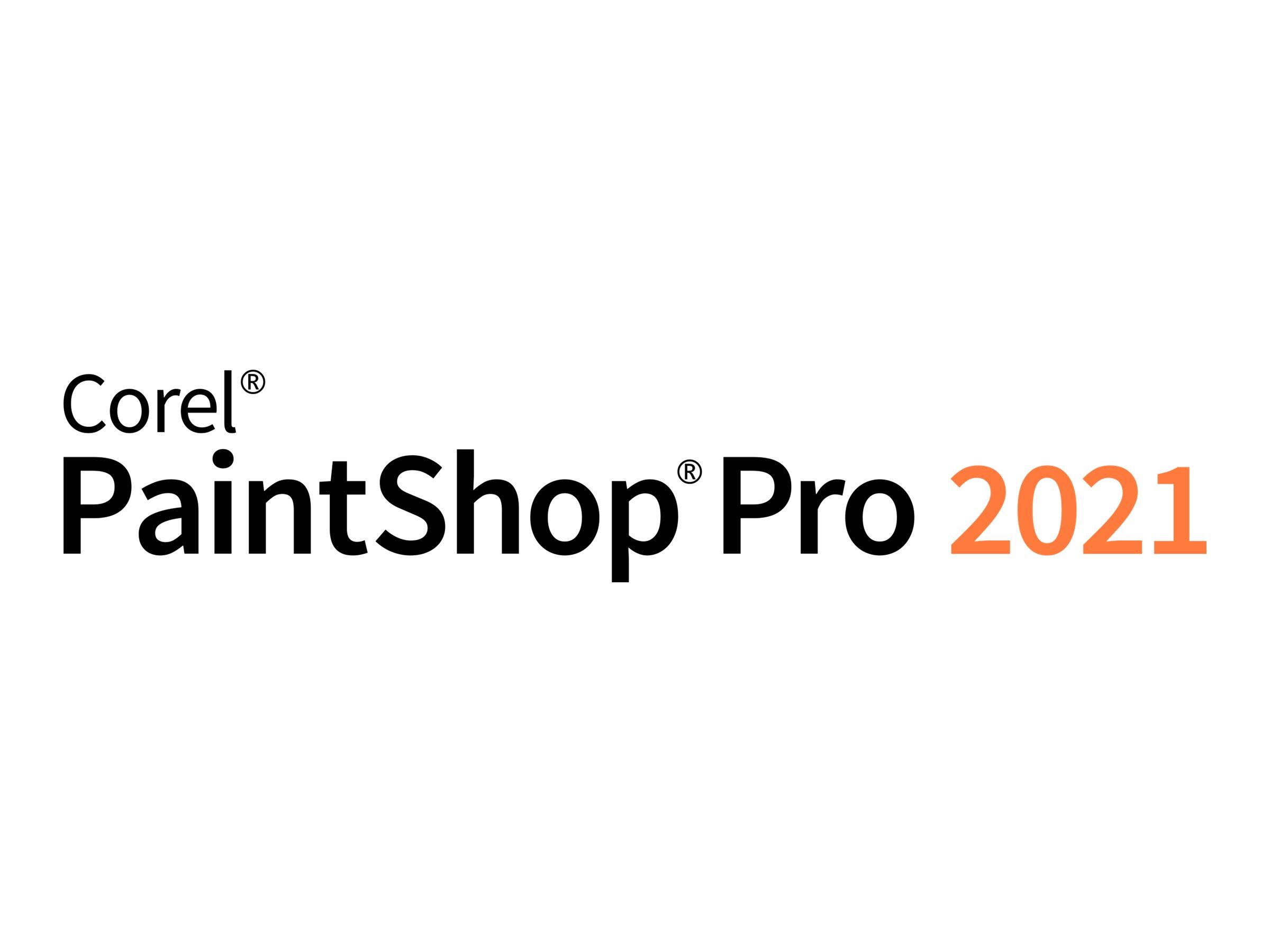 Corel PaintShop Pro 2021 - Upgrade-Lizenz - 1 Benutzer - Corporate / Unternehmens- - Win - Multi-Lingual